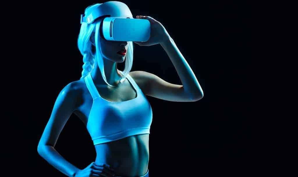 Wearing Headset VRPornDave