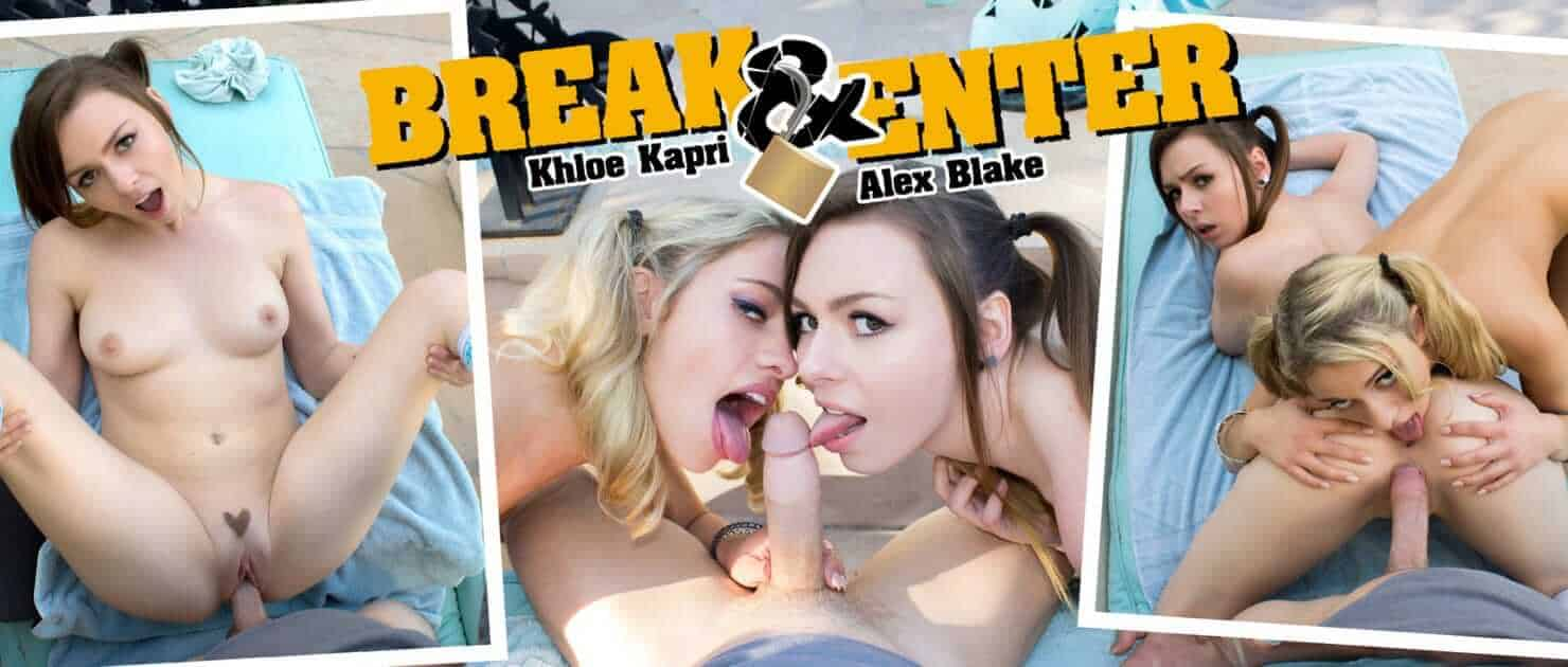 Entrée par effraction avec Khloe Kapri et Alex Blake