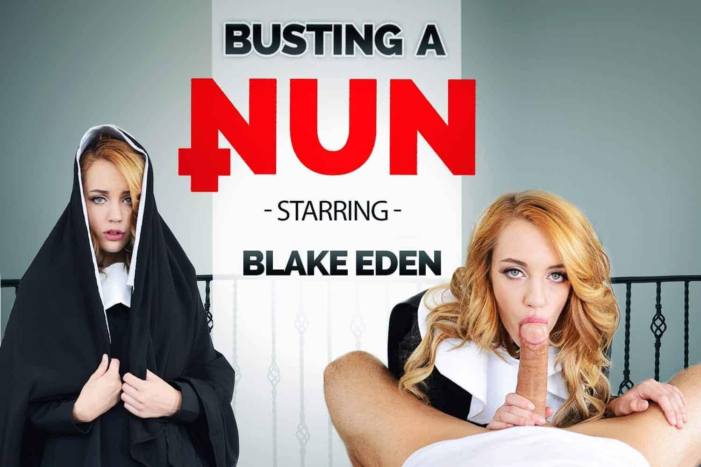 Busting A Nun Blake Eden