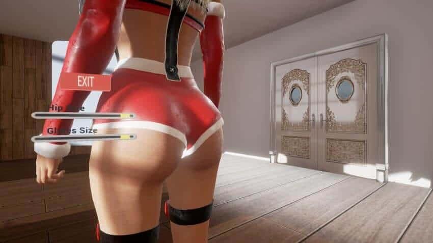 VR Titties character customisation