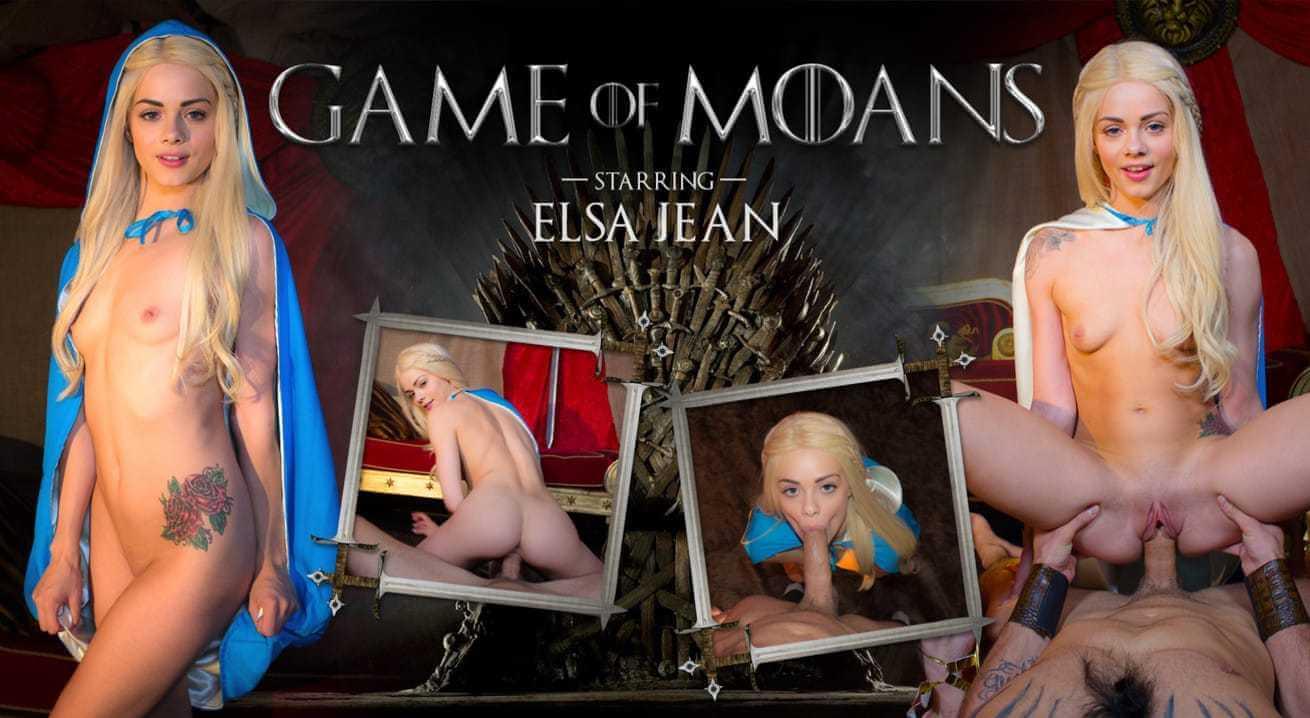Juego de los gemidos con Elsa Jean