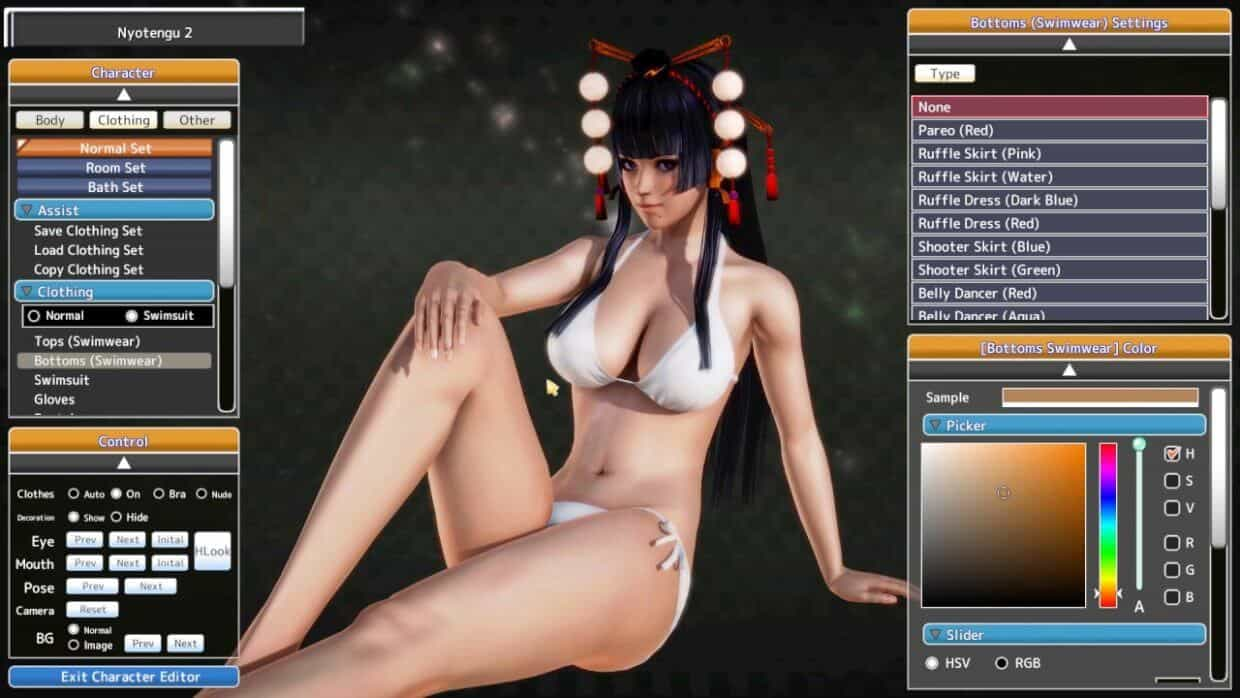 honey select character creation