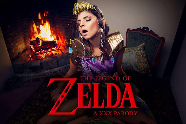 Zelda VR Cosplay