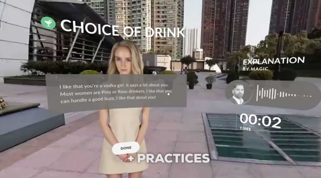 cerevrum VR-Dating-Lektionen