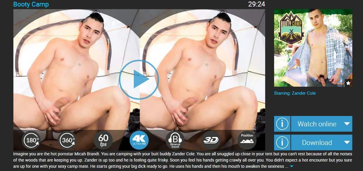 vrb gay landing page video list