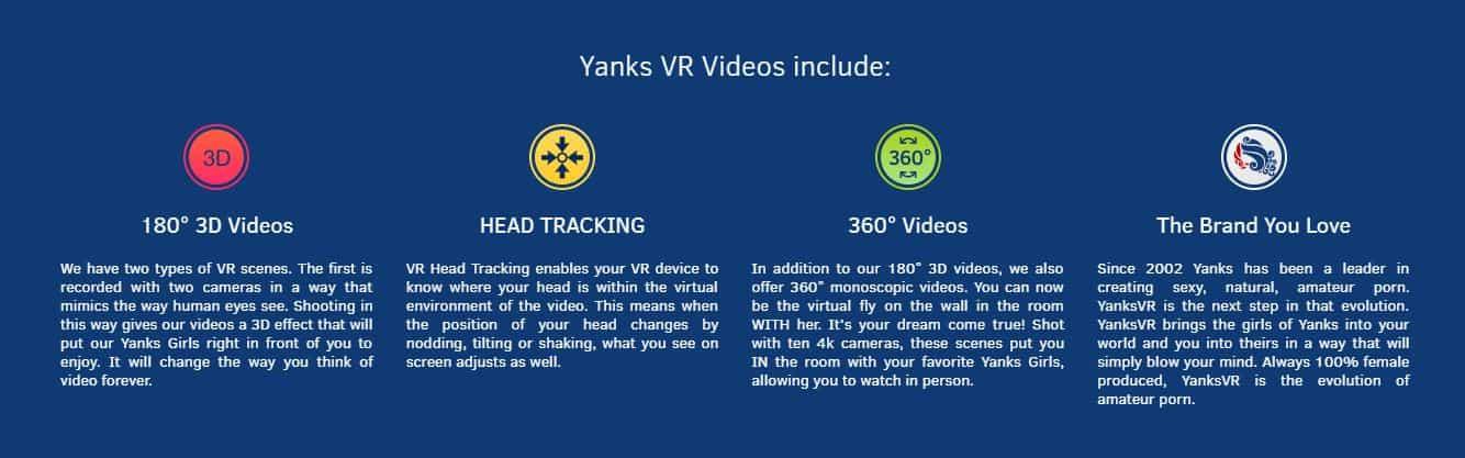 yanksvr features