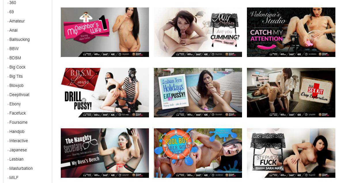 virtualporn360 video listing
