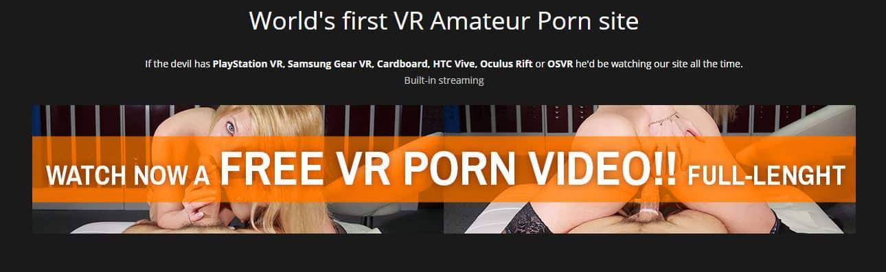 virtualrealamateurporn world first amatuer vr porn
