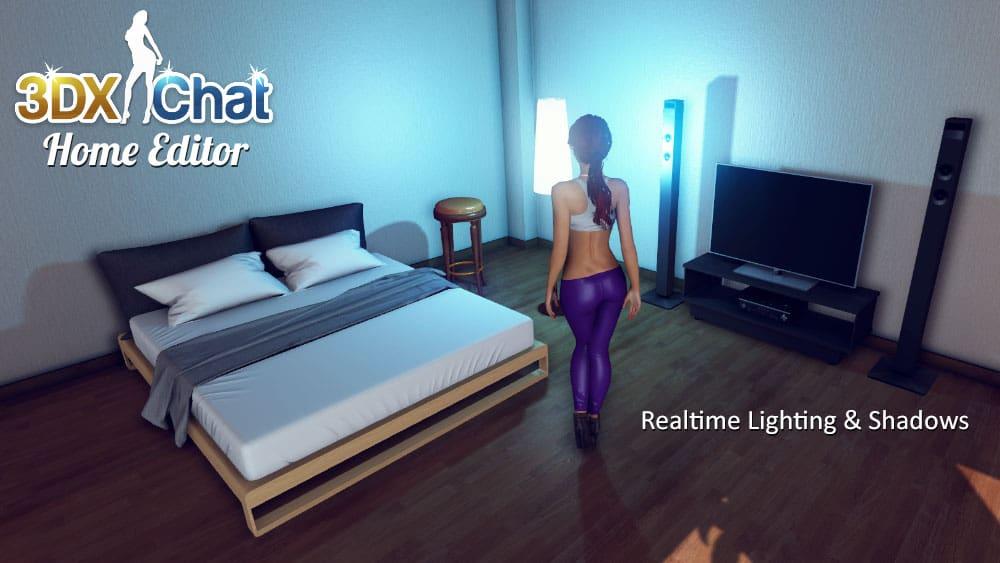 3dxchat realistic graphics