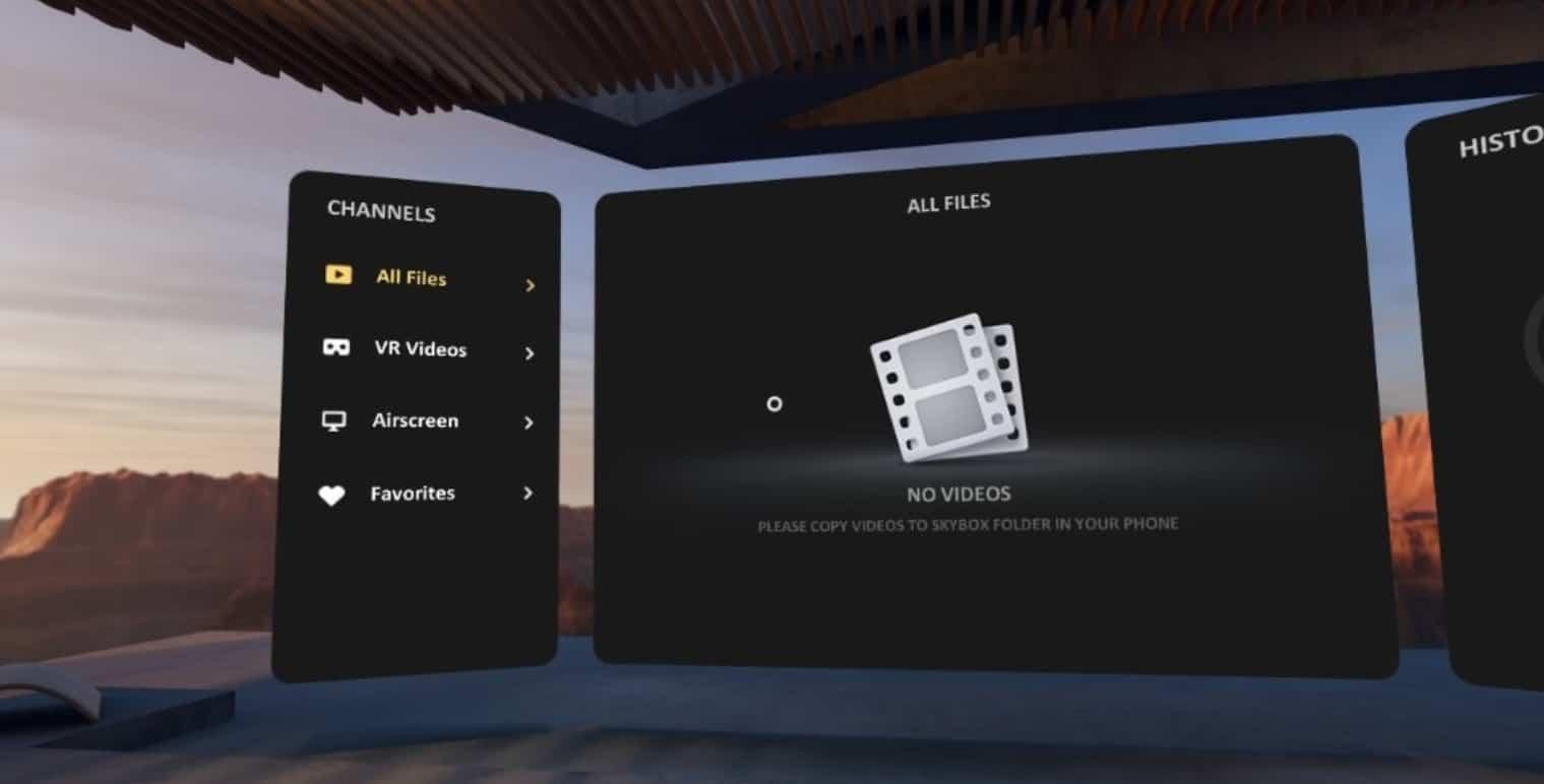 skybox vr player app