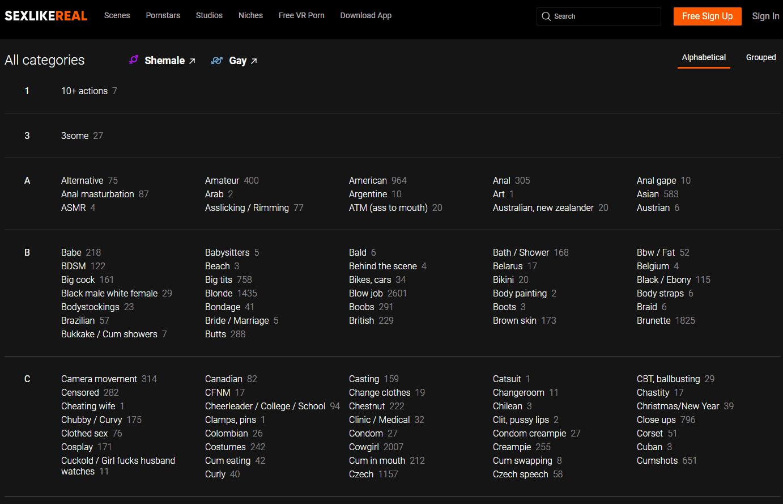 Come posso trovare il mio tipo di porno VR preferito? 2