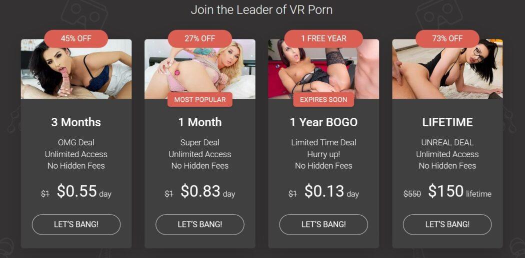 I migliori sconti e offerte per il porno in quarantena VR 10