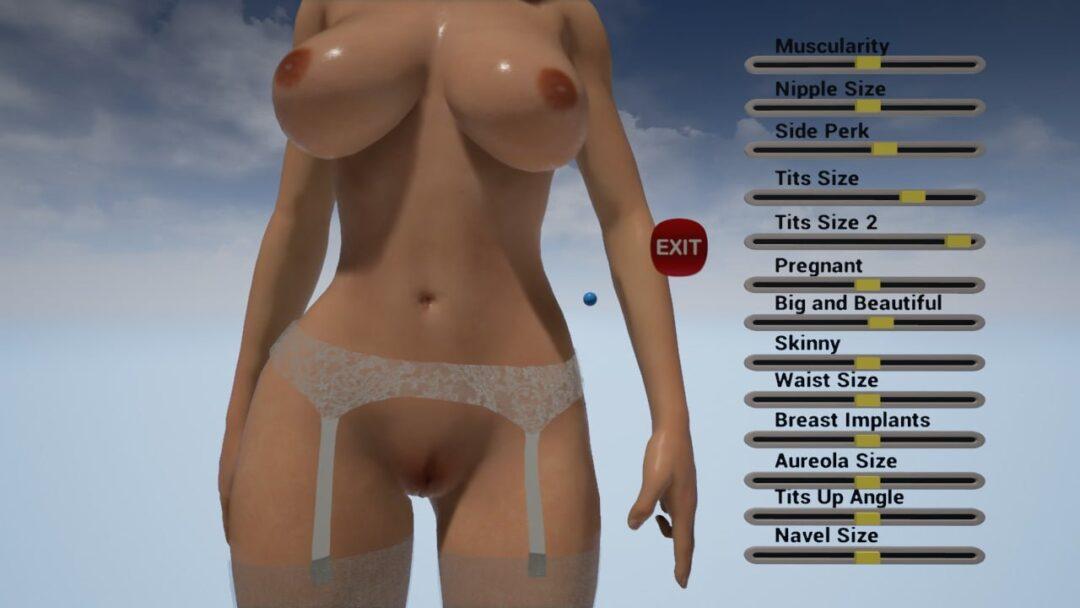 La pièce VR Titties