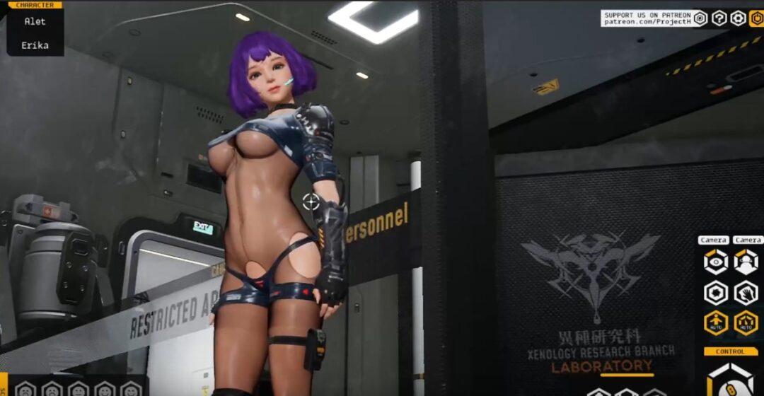 Fallen Doll VRポルノゲーム
