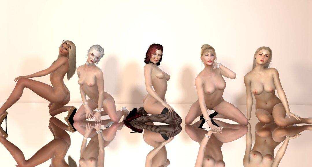 Virt-A-mate foot fetish sex