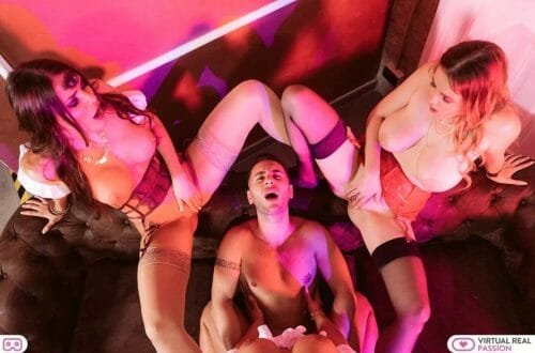 Female POV orgy virtualrealpassion