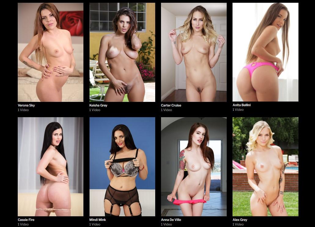 RealVR pornstars variety